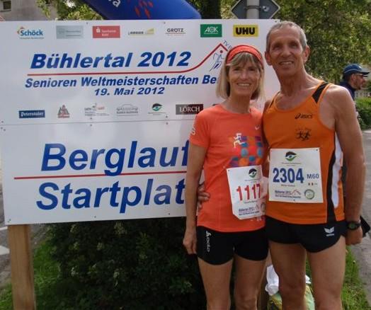 Unsere beiden erfolgreichen Bergläufer Marlene Zipperle
