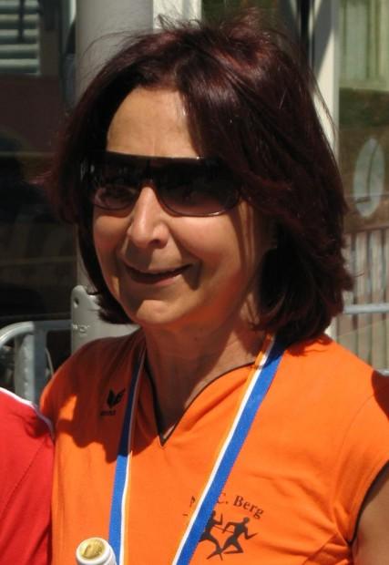 Anneliese Kofler setzte beim Dreiviertelhalbmarathon die Serie ihrer heurigen Erfolge fort
