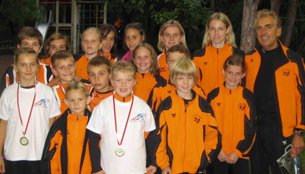 Die erfolgreiche Berglaufmannschaft der ASCB Jugend in Branzoll