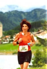 Anneliese beim Marathon in Carpi
