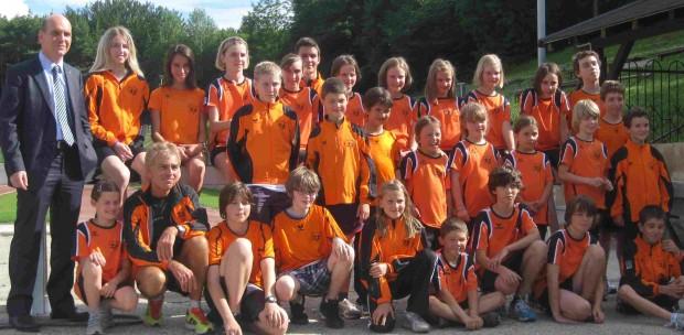 Die Jugendgruppe des ASC Berg