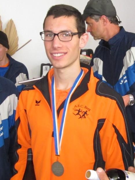 Ivo Drescher bei der Preisverleihung am Mendelpass