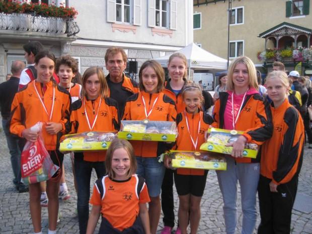 Die Jugendmannschaft des ASC Berg in Niederdorf