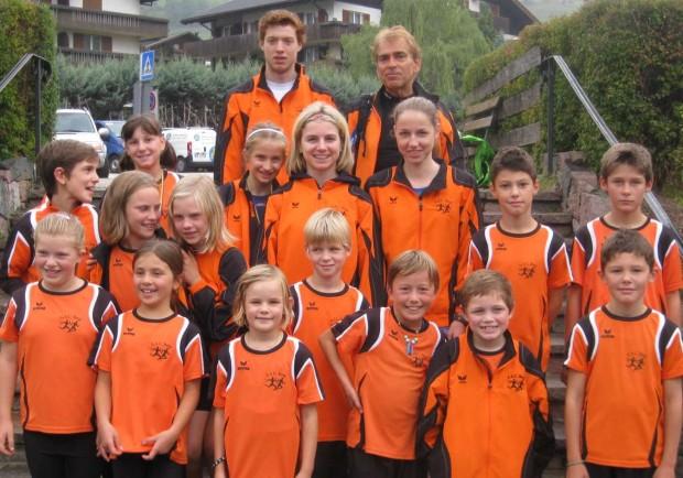 Die Jugendmannschaft des ASC Berg in Sarnthein