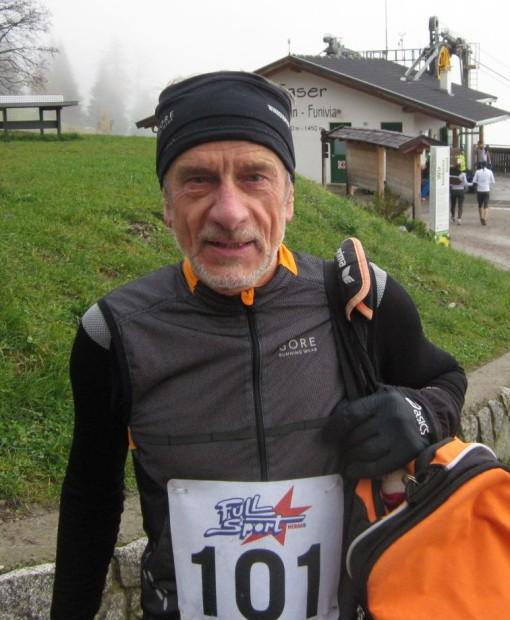 Roland Aufderklamm nach erfolgreichem Abschluss der heurigen Berglaufserie