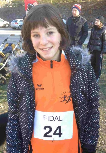 Ruth Hannah Hauser freut sich über ihren verdienten 2.Platz in Laag