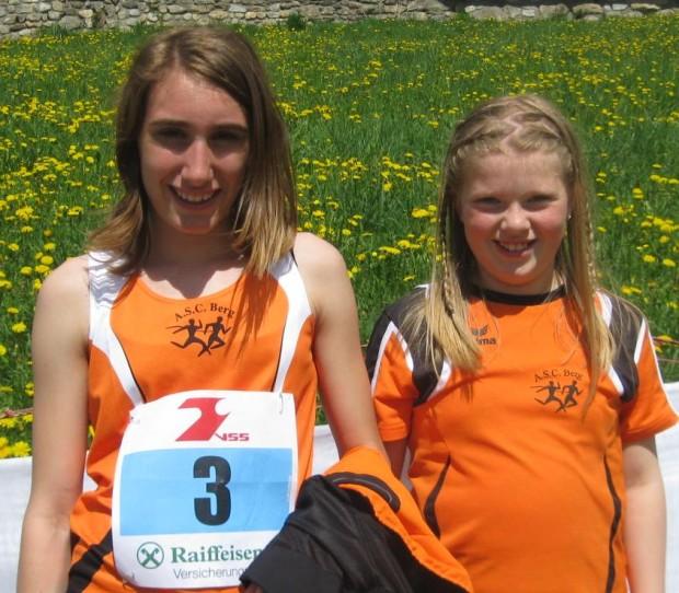 Elisabeth Pichler und Nadja Auer, die Sieger des Tages