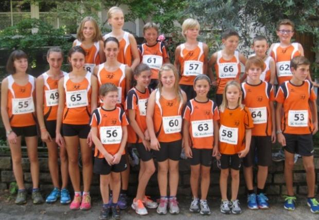 Die Jugendmannschaft des ASC Berg in Laag