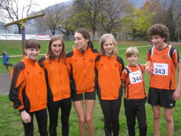 Die erfolgreiche Jugendmannschaft des ASC Berg in den Talferwiesen