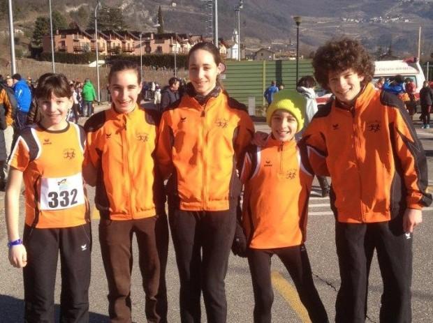 Auch im Trentino erfolgreich: die Jugend des ASC Berg