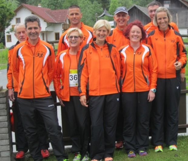 Die Reisegruppe des ASC Berg in Dellach in Kärnten