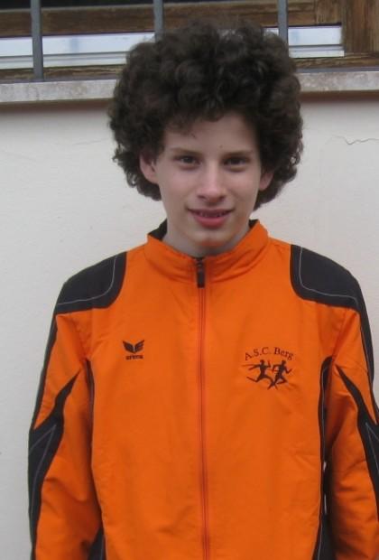 Alessio Dainese, eines der Nachwuchstalente des ASC Berg