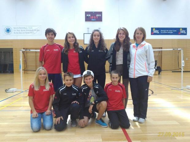 Die ASC Berg Truppe mit Trainerin Erika Stich