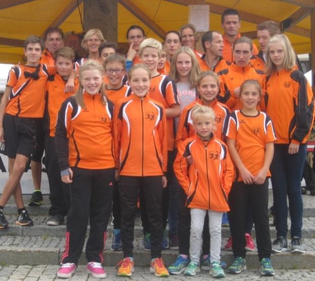 Die erfolgreiche Mannschaft des ASC Berg