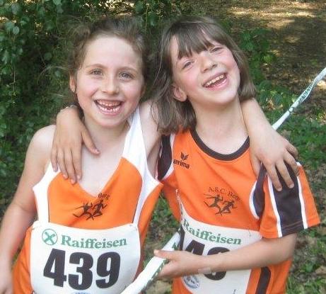 Spaß am Sport: Julia Ausserer und Magdalena Pichler