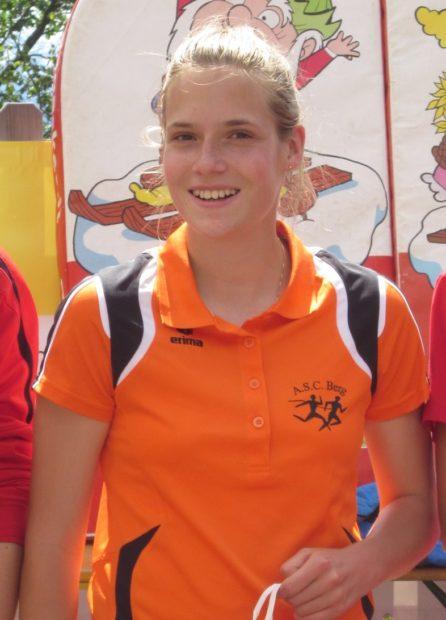 Eine regelmäßige Teilnehmerin an den Jugendläufen: Sandra Martini