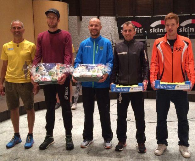 David Andersag (rechts) unter den absolut schnellsten Läufern des Tages
