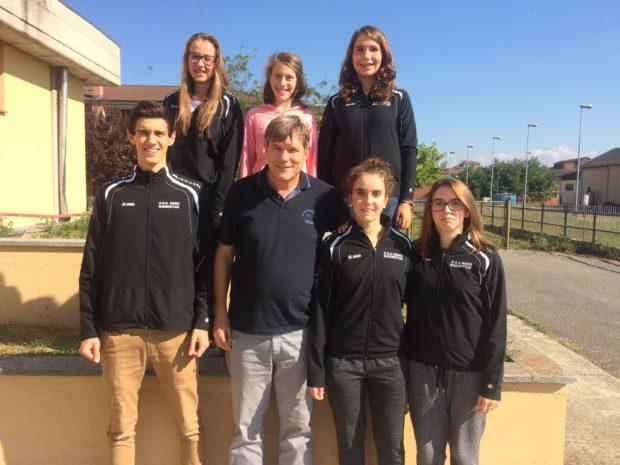 unsere Athleten in Novi Ligure