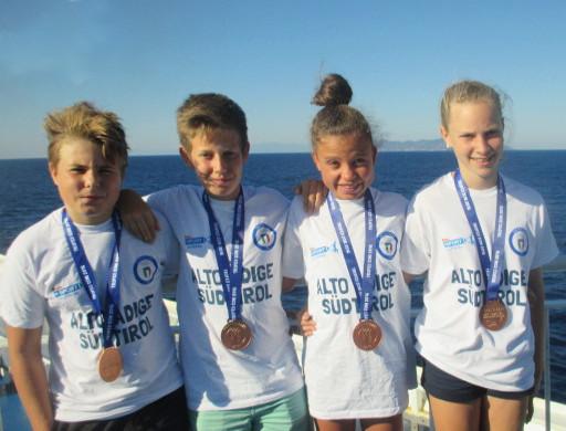 unsere erfolgreichen Athleten in Sardinien