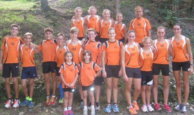 Die erfolgreiche Jugendmannschaft des ASC Berg in Laag