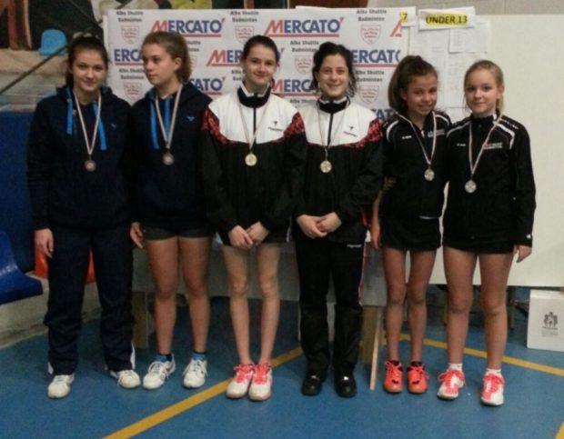Bronze für Nadia Puff und Greta Dösel