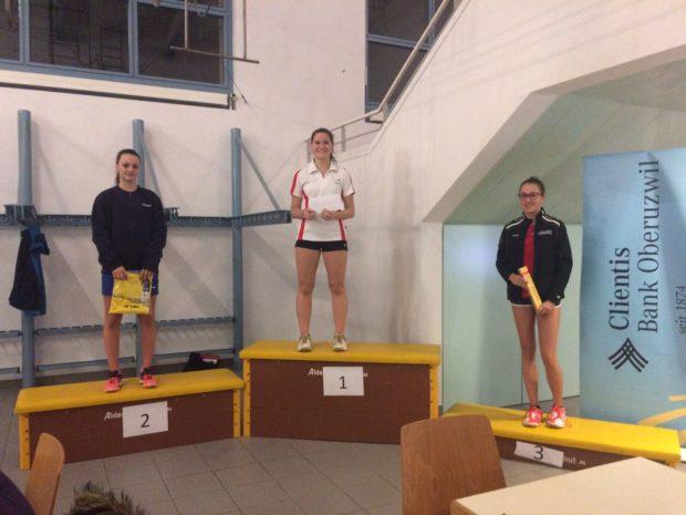 Bronzemedaille für Lara Dösel im Einzel U 17