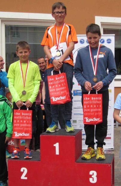 In Prad erfolgreich: Leon Pichler