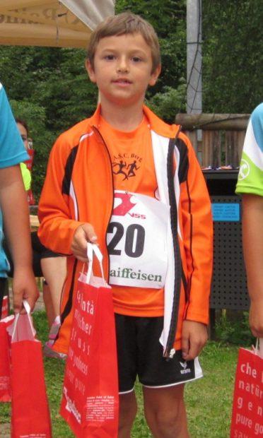 David Kofler bestritt in Gröden seinen 2. Dorflauf in dieser Saison