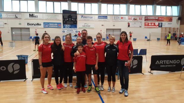 unsere erfolgreiche Mannschaft in Vicenza