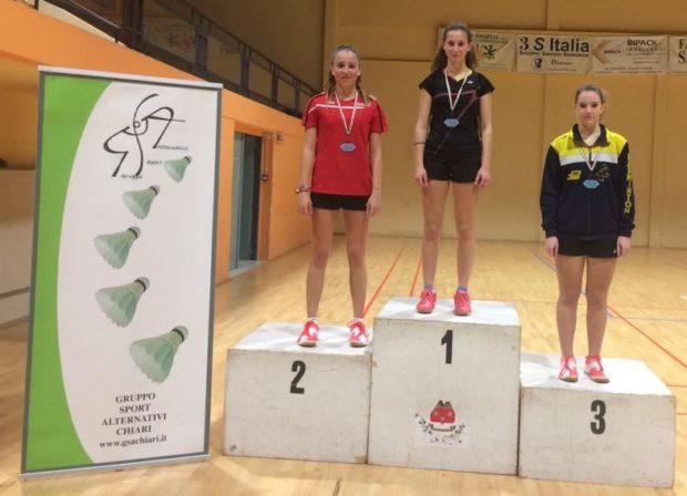 Platz 2 für Lara Dösel beim Under Ranglistenturnier Serie A in Chiari