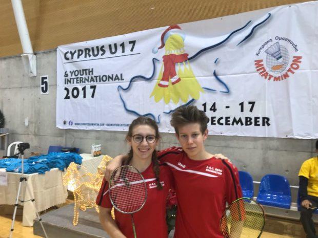 Maria und Lukas in Zypern