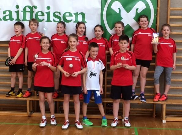unsere erfolgreichen Kids bei der Kinderolympiade in Eppan