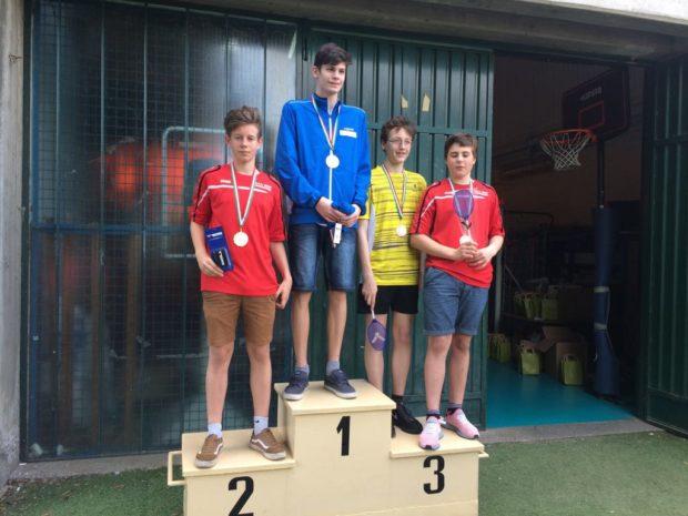 Silber für Lukas Pircher und Bronze für Felix Buratti.