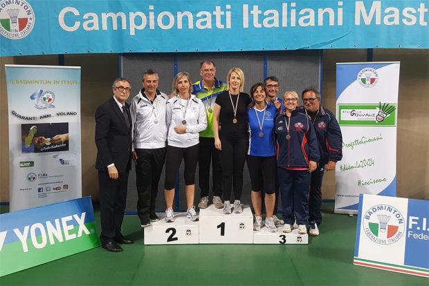 Gold für Erika im gemischten Doppel mit Massimo Merigo