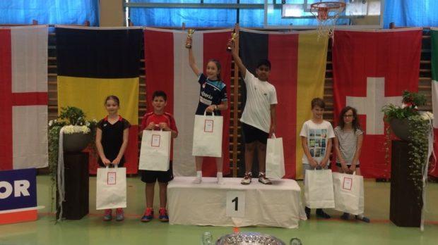 Silber im Mixed U 13 für Manuel Pircher