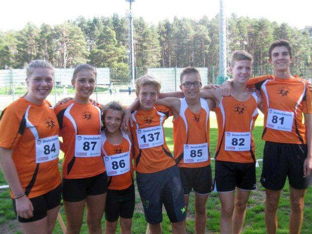 Die Jugendmannschaft des ACS Berg in Deutschnofen