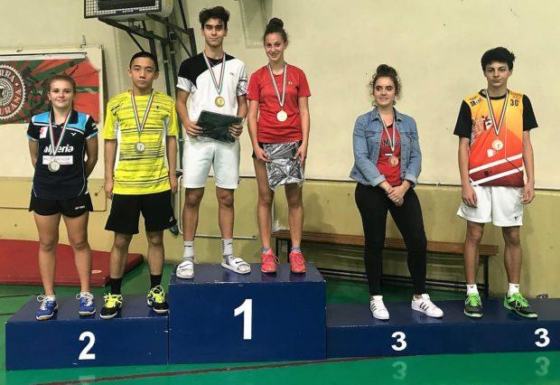 Platz 3 für Martina Delueg im gemischten Doppel mit Marco Baroni