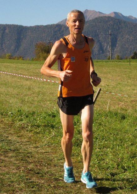 Peter Riffesser, der schnellste Läufer des ASC Berg in Sarnonico