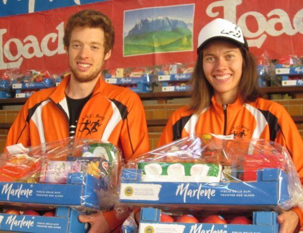 Unsere jungen Talente Natalie und David Andersag freuen sich über ihren Sieg